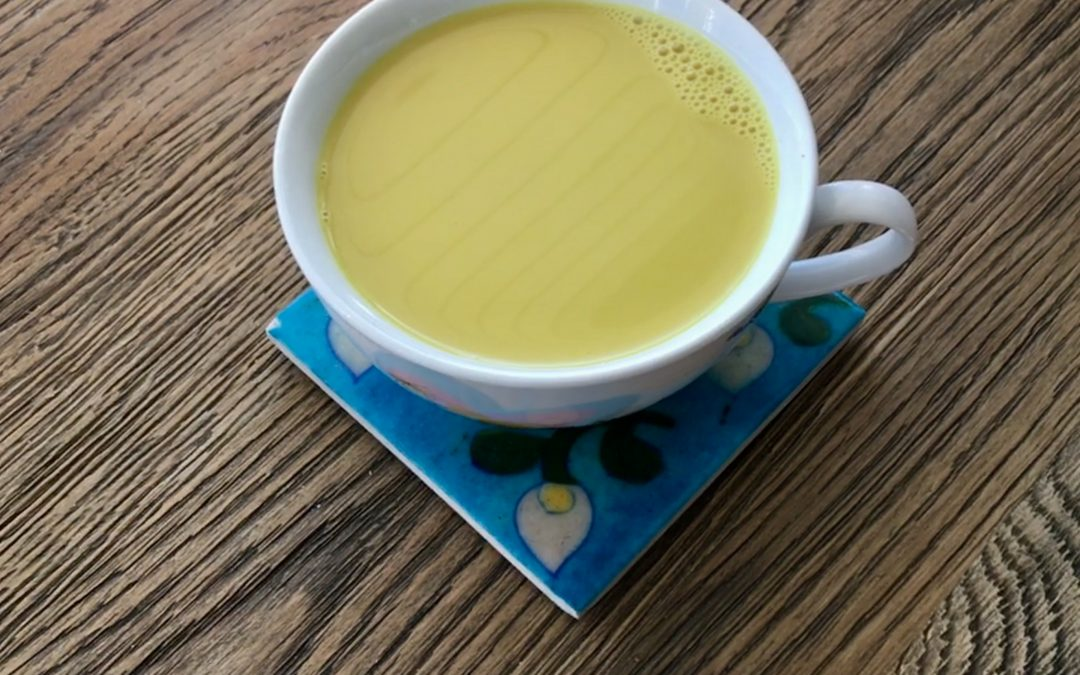 Anti-Inflammatory Turmeric Chai Latte